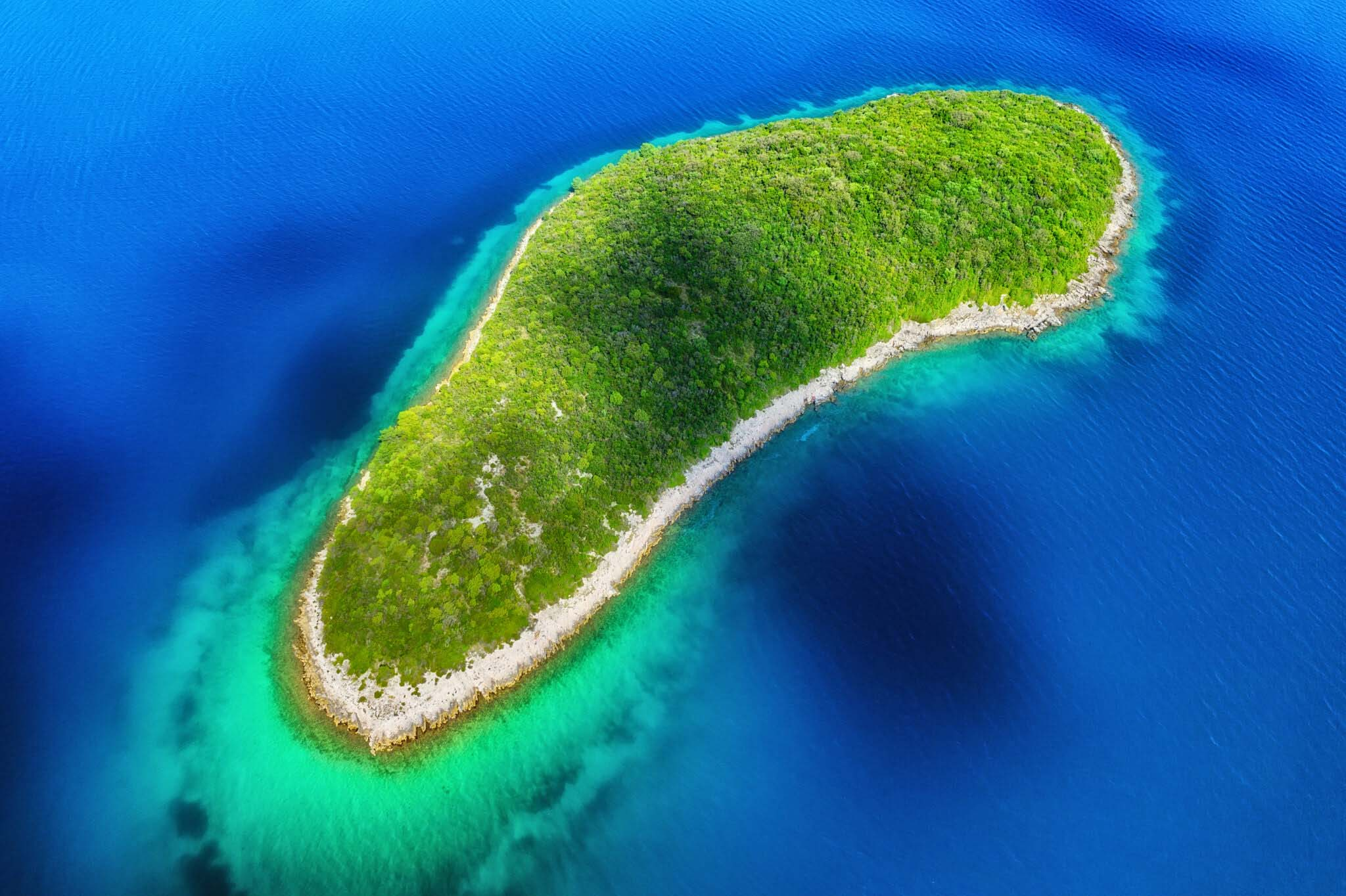 Most beautiful Dalmatian islands